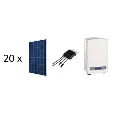 5.4 kW-os kulcsrakész okos (SMART) rendszer