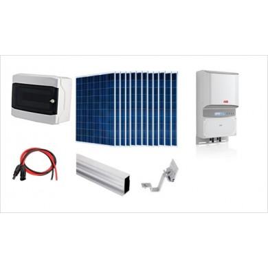 3 kWp napelemes rendszer ABB