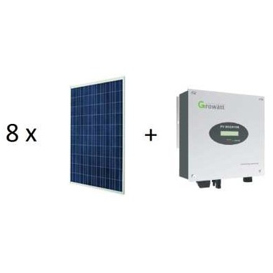 2 kWp napelemes rendszer