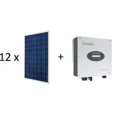 3 kWp napelemes rendszer