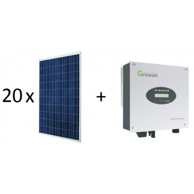 5 kWp napelemes rendszer